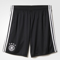 adidas DFB Kinder Heim Short EM 2016 black/white Gr. 176
