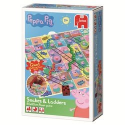 JUMBO Spiele Peppa Pig Snakes and Ladders (00751)