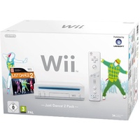 Nintendo Wii weiß + Just Dance 2 (Bundle)