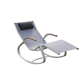 leco schaukelstuhl 70 x 157 x 94 cm schwarz wei. Black Bedroom Furniture Sets. Home Design Ideas