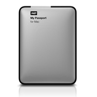 Western Digital My Passport for Mac 1TB silber (WDBBXV0010BBK-EESN)
