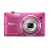 Nikon Coolpix S3500 rosa ornament