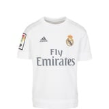 adidas Real Madrid Kinder Heim Trikot 2015/2016 white/clear grey Gr. 164