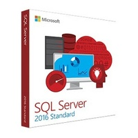 Microsoft SQL Server 2016 Standard Edition, Box, Englische