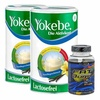 Yokebe Aktivkost Laktosefrei 2 x 500 g + Best Body Fat Burn V10 100 St.