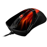 Sharkoon Gaming Mouse FireGlider schwarz/rot