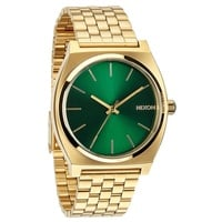 Nixon The Time Teller Gold / Green Sunray A0451919