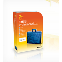 Microsoft Office Professional 2010 PKC DE Win