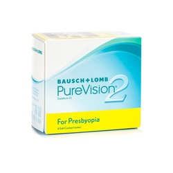 Bausch + Lomb PureVision2 for Presbyopia 6 St. / 8.60 BC / 14.00 DIA / -7.50 DPT / High ADD