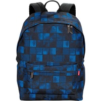 4YOU Daypack Squares blue