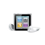 Apple iPod nano 8GB (6. Generation) silber