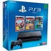 Sony PS3 Super Slim 12 GB + Little Big Planet (Essentials) + ModNation (Essentials) + Ratchet & Clank: Q-Force (Bundle)