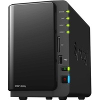 SYNOLOGY DiskStation DS214play schwarz