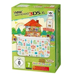 Nintendo New Nintendo 3DS XL + Animal Crossing: Happy Home Designer Edition (Bundle)