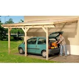 prikker carport anlehncarport eifel 3 3 00 x 5 00 m kdi. Black Bedroom Furniture Sets. Home Design Ideas