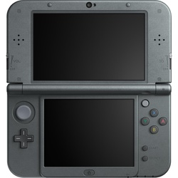 Nintendo New Nintendo 3DS XL metallic schwarz + Pokemon Mond