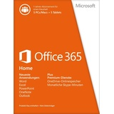 Microsoft Office 365 Home Premium 5 User PKC DE Win Mac