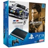 Sony PS3 Super Slim 500 GB + Uncharted 3 + Gran Turismo 5 (Bundle)