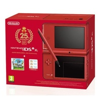 Nintendo DSi XL rot + New Super Mario Bros. (Bundle)