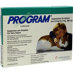 Novartis Program Suspension für Katzen 266 mg 6 St.