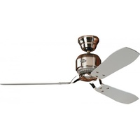 Hunter Deckenventilator Hunter Industrie 132 cm Chrom