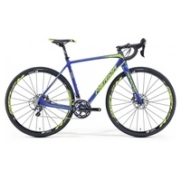 Merida Cyclo Cross 6000 28 Zoll RH 56 cm blau/lime 2016