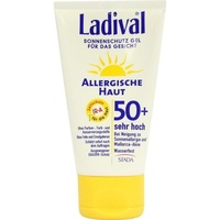 Ladival Allergische Haut Gesicht Gel LSF 50+ 75 ml