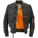 Alpha Industries MA-1 TT Fliegerjacke repl.-grey M