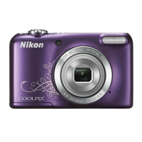 Nikon Coolpix L27 violett ornament