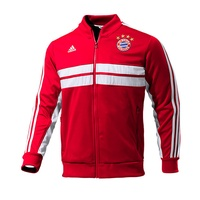 Adidas FC Bayern München Herren Anthem Jacket 2013/2014 fcb true red/white M