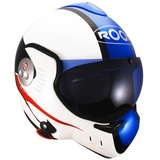 Roof Boxer V8 Suzuka White/Red/Blue