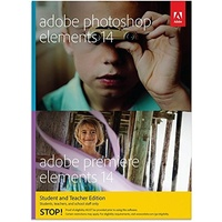 Adobe Photoshop Elements 14 + Premiere Elements 14 EDU DE Win Mac