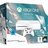 Microsoft Xbox One 500GB weiß + Quantum Break (Bundle)