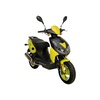 AGM-Motors Fighter 50 one Eco 49 ccm 2,4 PS 45 km/h schwarz / gelb