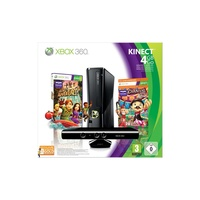 Microsoft Xbox 360 Slim 4 GB + Carnival Games + Kinecht Adventures (Bundle)