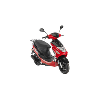 FLEX TECH Cityleader 50 ccm 3,3 PS 45 km/h rot