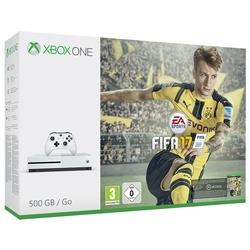 Microsoft Xbox One S 500GB + FIFA 17 (Bundle)