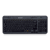 LOGITECH Wireless Keyboard K360 DE schwarz (920-003056)