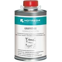 HOTREGA® PROFESSIONAL Graffiti-Ex Spraylackentferner, Spezialgel zur Entfernung von Spraylacken und wasserfesten Filzstiften, 1 Liter - Dose