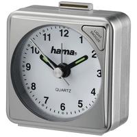 Hama 186328 Reisewecker A50 silber (Uhr & Wecker)