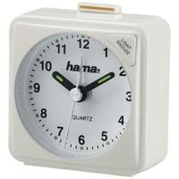 Hama 186330 Reisewecker A50 weiß (Uhr & Wecker)