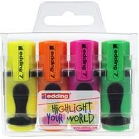 Textmarker 7 Mini 4er-Set (1mm)