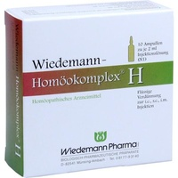 Wiedemann Homöokomplex H