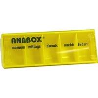 ANABOX-Tagesbox gelb