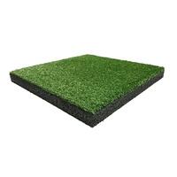 Kunstgras- / Gummigranulatplatte, 50 x 50 cm