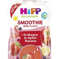 HiPP Bio Smoothie Mix - sonst nix rote Früchte in Apfel-Banane