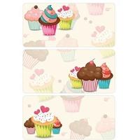 HERMA 3065 10x Sticker DECOR Cupcakes