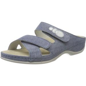 Berkemann Damen Felia Pantoletten, Blau (Jeansblau 346), 41.5 EU