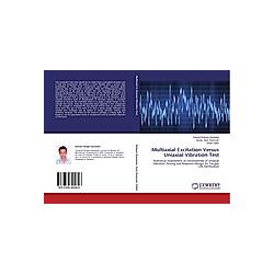 Multiaxial Excitation Versus Uniaxial Vibration Test. Davood Dehgan Banadaki  Sharif Zahiri  Sunay Sami Durmush  - Buch