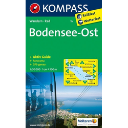 Bodensee Ost 1 : 50 000
